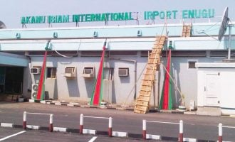 FG to shut Enugu airport for 'security reasons'