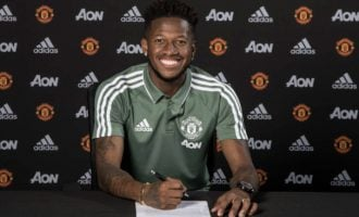Manchester United sign Fred