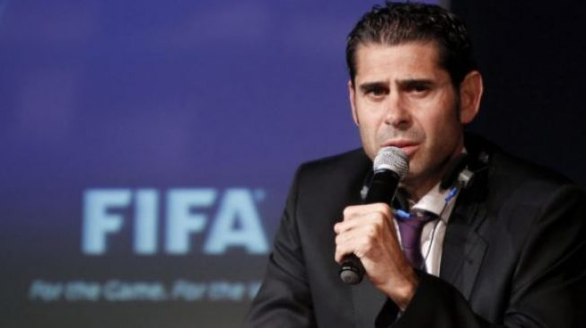Fernando Hierro named new coach of Spain