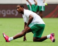 AFCON: It is good if they see Eagles as underdogs, says Ighalo