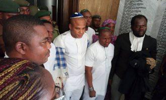 Nnamdi Kanu's co-defendants granted bail