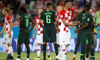 Nigeria off to stuttering start in Russia