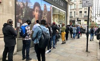 Nigeria's World Cup jersey sells out as hundreds queue to buy in London