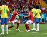 Switzerland stand firm, deny Neymar and Brazil