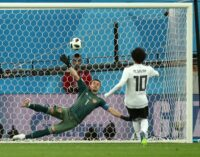 Salah consolatory goal not enough as Egypt crash out of World Cup