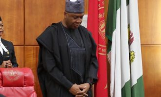 PDP reps 'take over' national assembly, raise the alarm on 'plot to impeach Saraki'