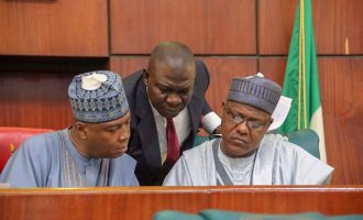 Anti-Buhari coalition raises the alarm over 'plot to remove Saraki, Dogara violently'