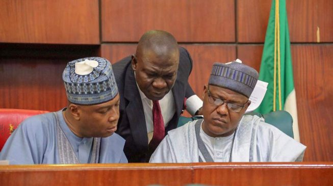 'N35bn for senate', 'N12.3 bn for general  services' — Saraki releases details of National Assembly's 2018 Budget