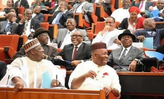 EXTRA: Buhari's 'transmission' letter sparks laughter among senators