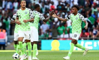 Saraki: Super Eagles will produce performance to match their sleek jersey