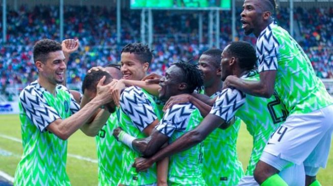 Nigeria's football jersey shortlisted for Beazley designs of the year award