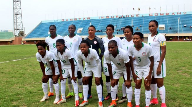 Super Falcons to play 10 warm-up games before World Cup