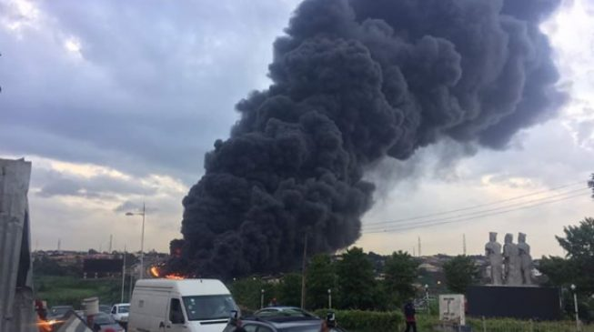 Otedola bridge fire: Police arrest truck owner
