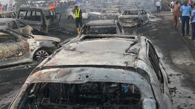 Explosion: Fuel tanker was carrying twice its capacity, says Lagos
