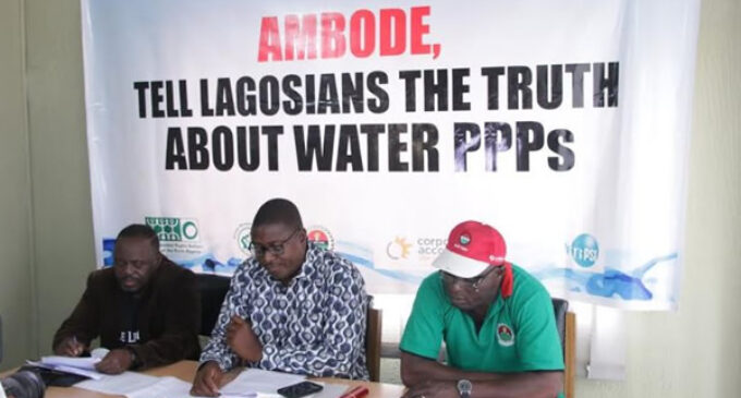 Activists demand information on Lagos water projects