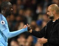 Pep Guardiola has problems with African players, says Yaya Toure