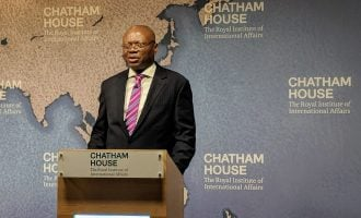 UI at 70: VC speaks at Chatham House, says less than 6% of high school leavers in Nigeria get into varsities