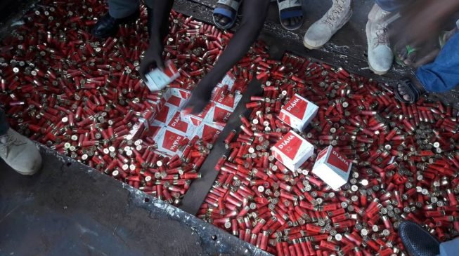Customs: We seized a truck conveying 200,000 live ammunition from Niger to Anambra