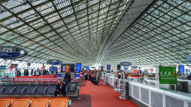 Hundreds of Nigerians stranded at Charles De Gaulle Airport