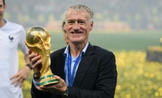Deschamps, Guardiola, Zidane nominated for FIFA coach of the year award