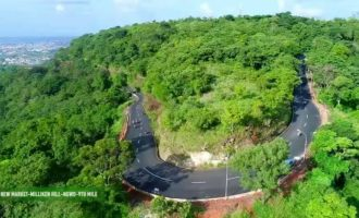 Enugu's 'natural rollercoaster' Milken Hill gets makeover from Ugwuanyi