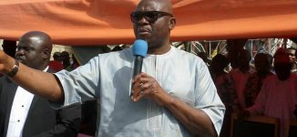 Fayose on Amina Zakari: Why not just appoint Buhari's child as INEC chairman?