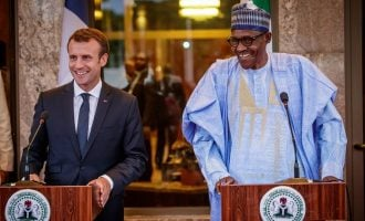 Fayose: When I saw 'old man' Buhari beside the president of France, I said 'Oh my God'