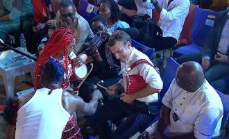 How Macron humanised France during his visit to Nigeria