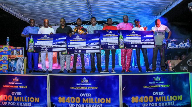 20 more Nigerians win millions in Week 3 of Star Lager United We Shine