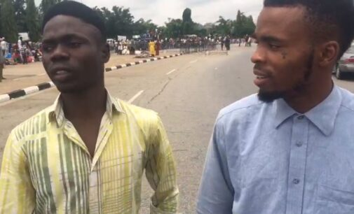 VIDEO: We were promised N1,000, say protesters at n'assembly