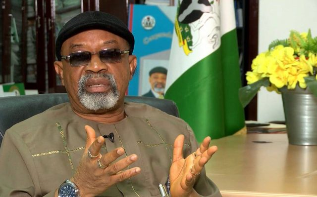 ASUU strike: I could have allowed my children to enjoy free education in the US, but I didn't, says Ngige