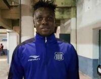 Okiki: Why I signed for Egypt's Ismaily SC