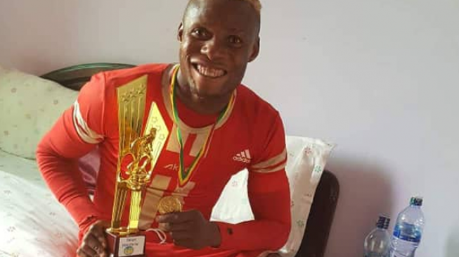 Nigerian striker Okiki named best player in Ethiopian Premier League