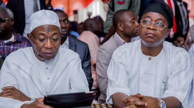 No rift between Aregbesola and I, says Oyetola