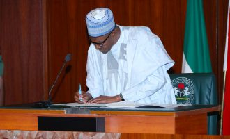'N1m fine for offenders' — Buhari signs disability bill into law