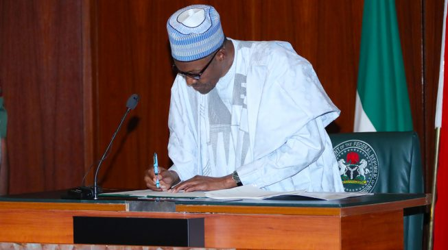 Executive Order No. 6: Buhari acquires a big stick against corruption