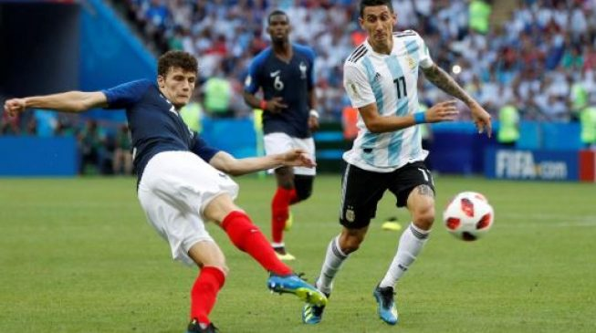 France's Pavard beats Musa to World Cup best goal award