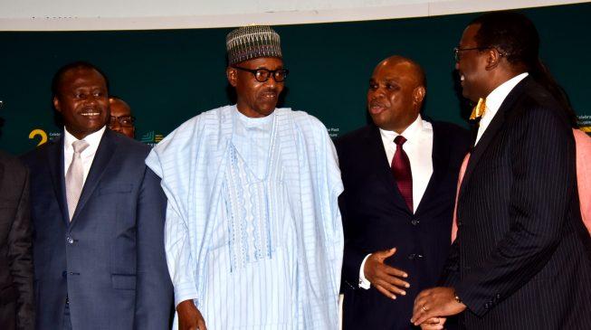 PHOTOS: Buhari, Adeosun attend annual meeting of Afreximbank in Abuja