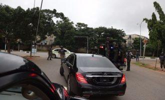 So after giving Saraki lap dance, Buhari sends police after him?