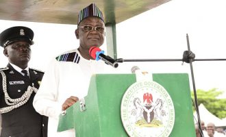 IT'S OFFICIAL: Ortom reelected Benue governor