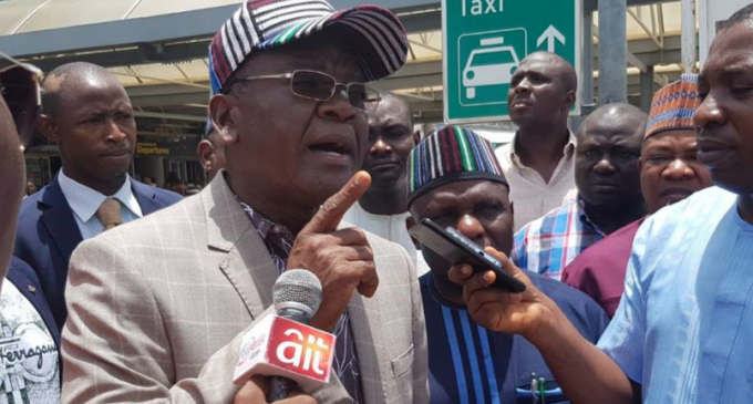 Insecurity: Ortom asks FG to allow responsible people carry AK-47