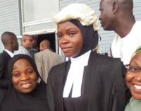 Amasa Firdaus: God used me to break hijab barrier among lawyers