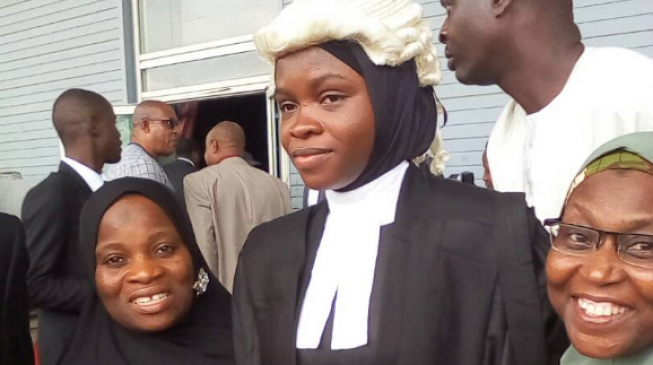 Hijab controversy: Amasa Firdaus finally called to bar