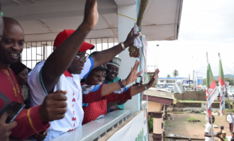 God has delivered my people from bondage, says Fayemi