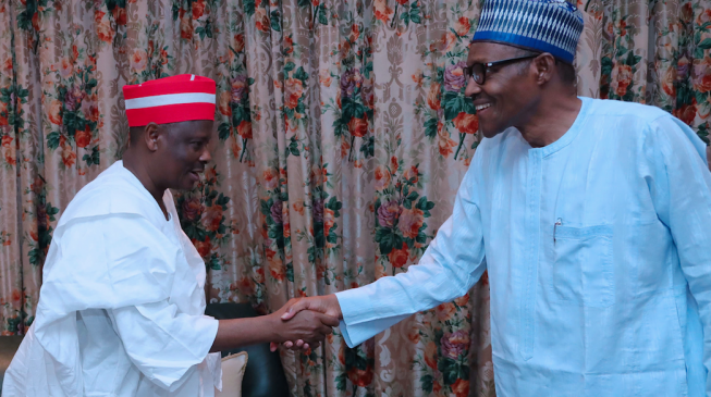Kwankwaso leads 'aggrieved' senators to Buhari
