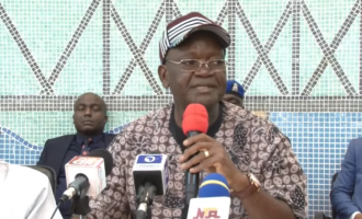 VIDEO: The moment Ortom resigned from APC