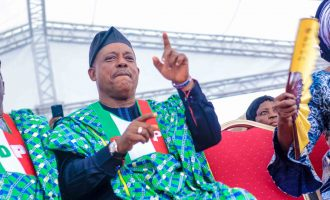 'The broom has scattered' — Secondus taunts APC