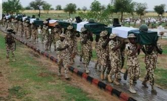 PDP 'mocking our fallen heroes' over Boko Haram attacks