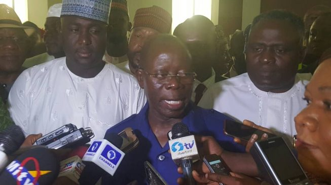 I can't lose sleep over Galadima, says Oshiomhole