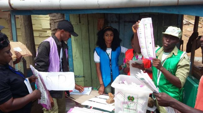 How it went: Collation of votes in Ekiti election